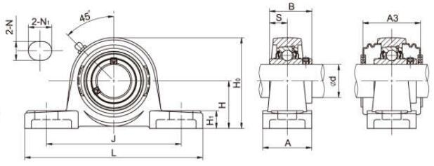 Bearing Units UCP205