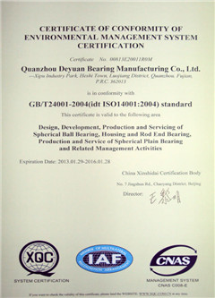 GB/T 24001-Environmental Management System Certificate